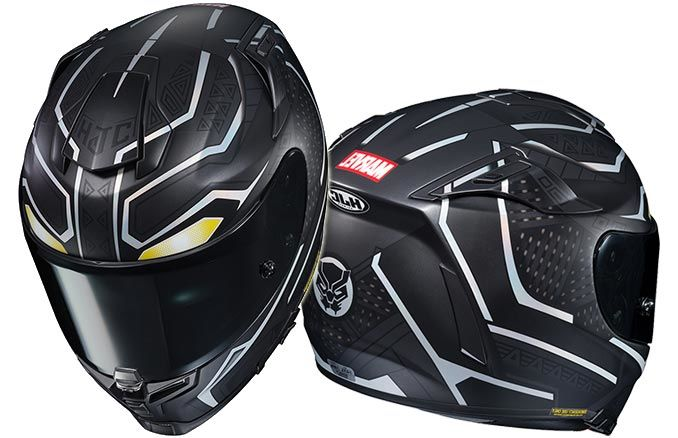 Superhero-Inspired Motorcycle Helmets