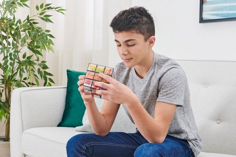 Two-in-One Cubic Puzzles