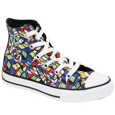 Rubik's Cube-Inspired Shoes