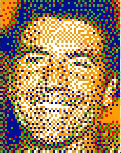 Pixelated Pop Portraits