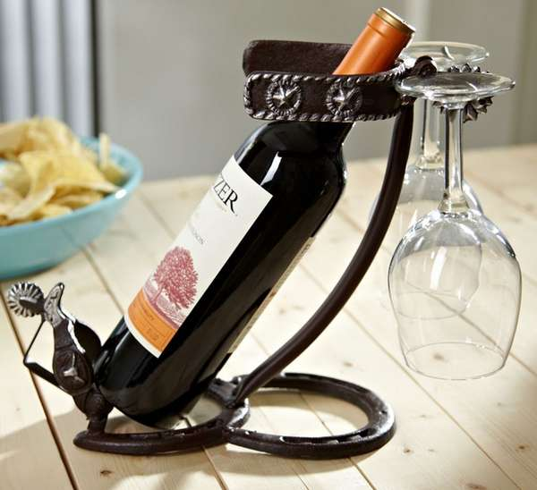 Rugged Cowboy Wine Accessories