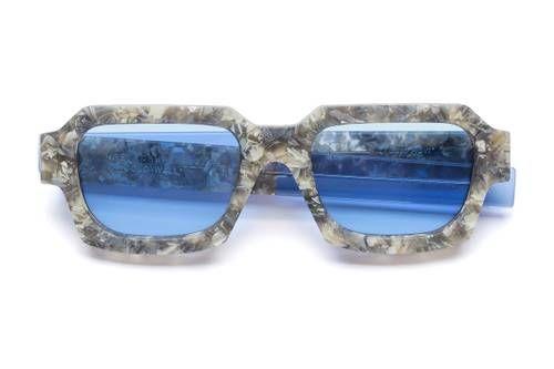 Brutalist Detailed Collab Eyewear