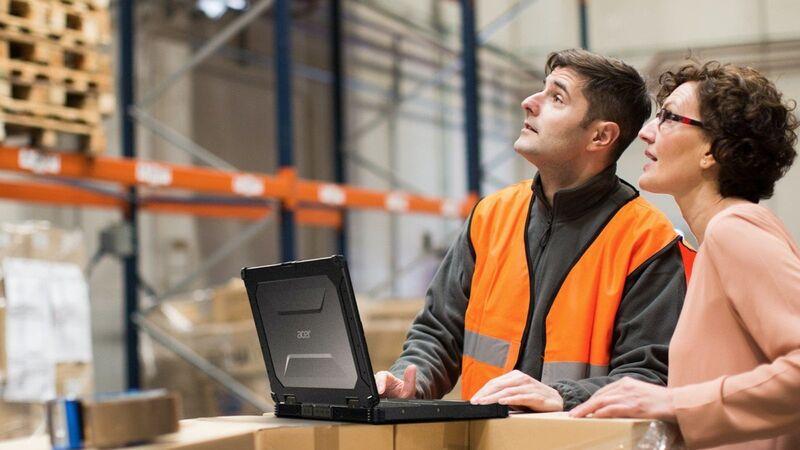 Industrial Field Worker Laptops