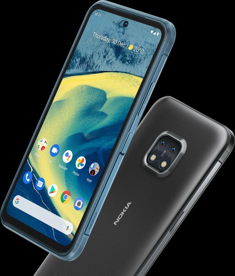 Slim-Bodied Rugged Smartphones