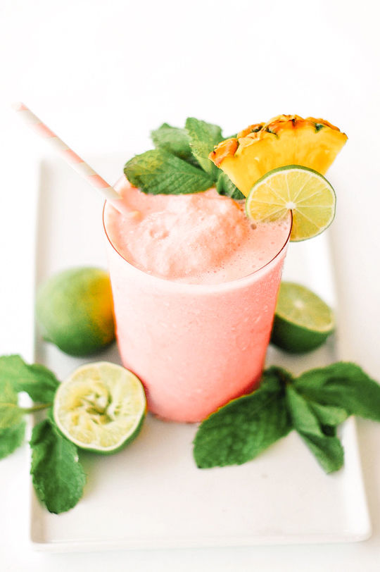 Tropical Booze Smoothies