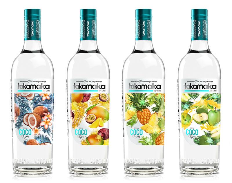 Tropical Rum Packaging