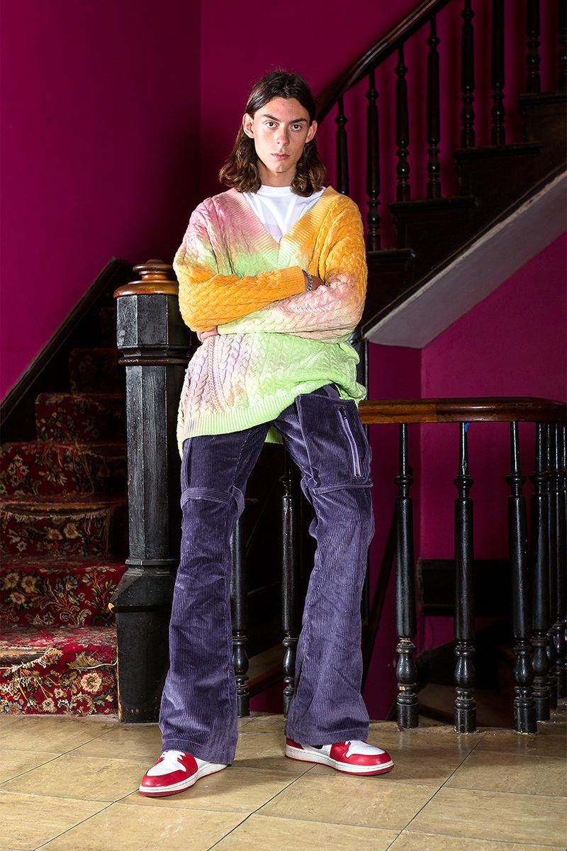 Rhinestone-Embellished Streetwear Series