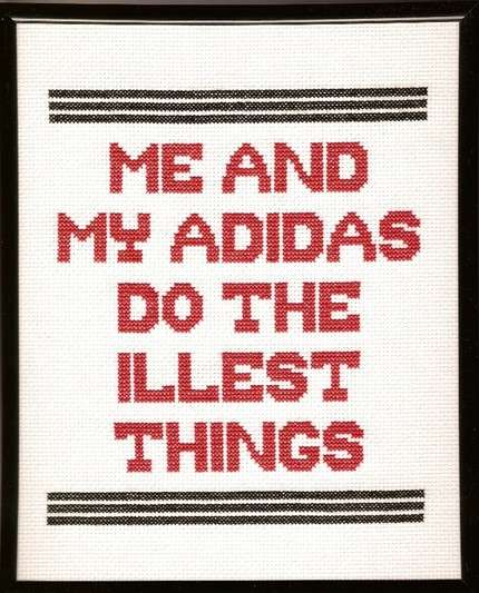 Cross-Stitched Rap