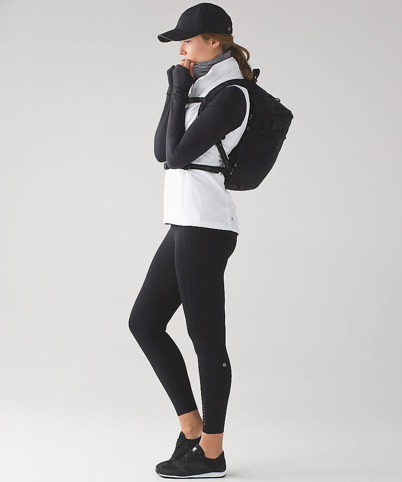 Wintry Running Apparel