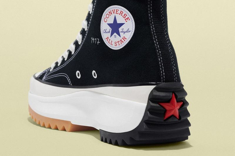 Rugged Flag-Inspired Casual Shoes
