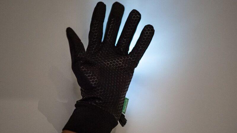 Visibility-Enhancing Gloves