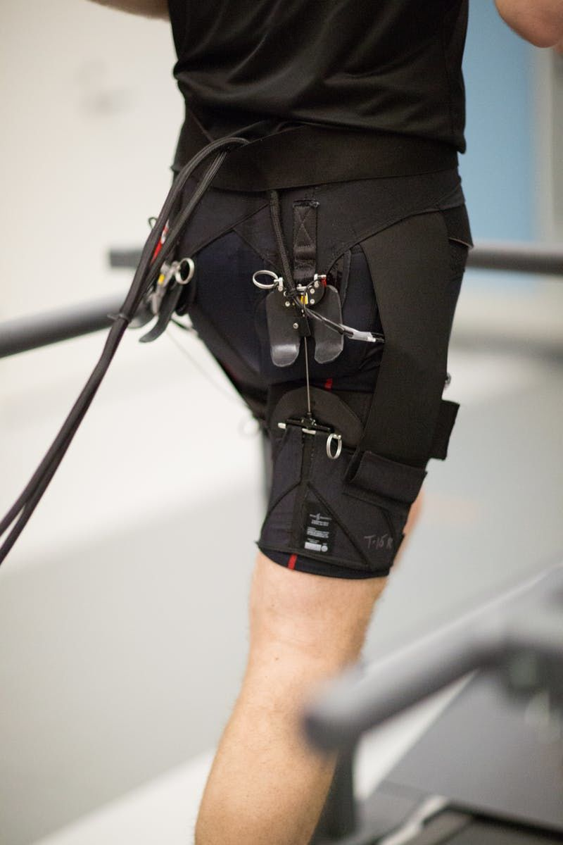 Robotic Running Exosuits