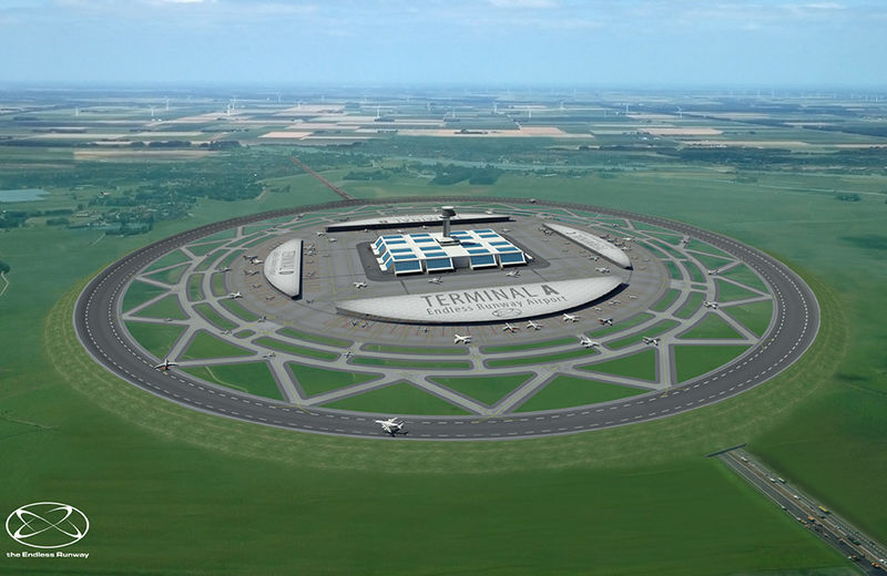 Spherical Runway Airport Designs