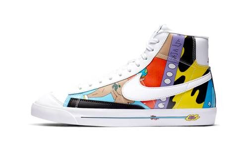 Artfully Bold Colorful Sneakers