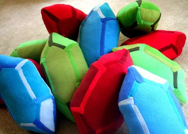Gamer Currency Cushions