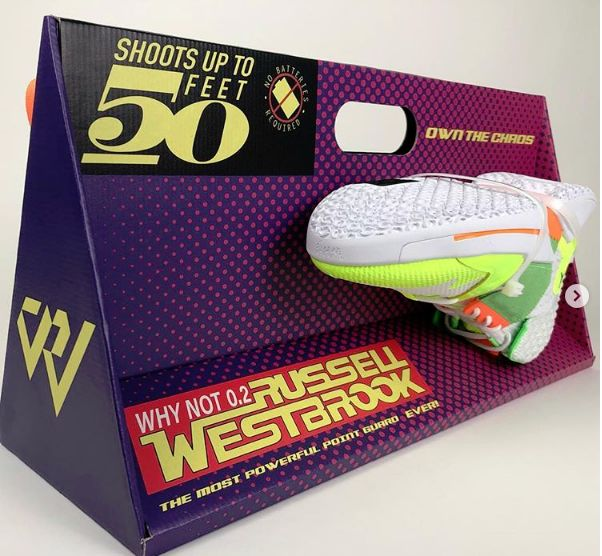 Water Gun-Inspired Basketball Shoes : russell westbrook shoes
