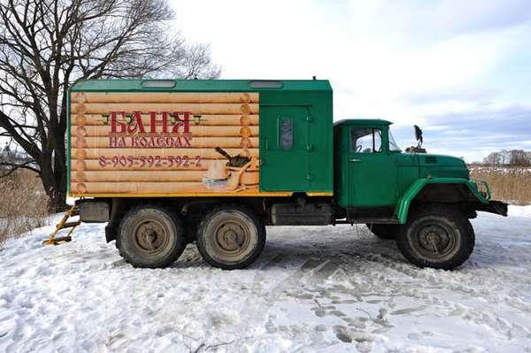Steamy Truck Saunas