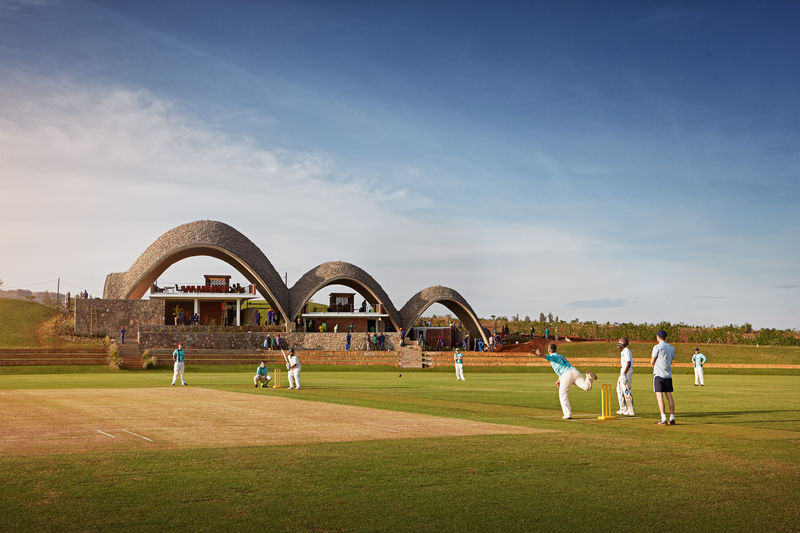 Natural Cricket Stadiums
