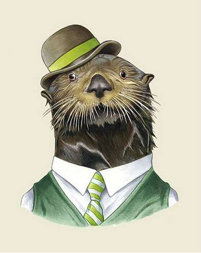 Gentlemanly Animal Makeovers