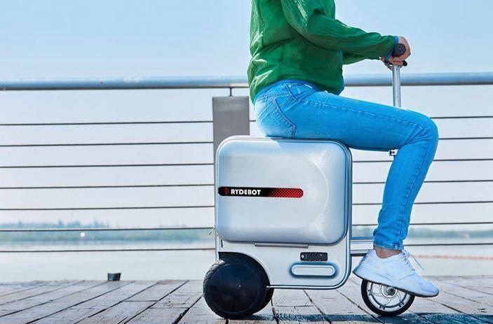 Motorized Transportation Suitcases