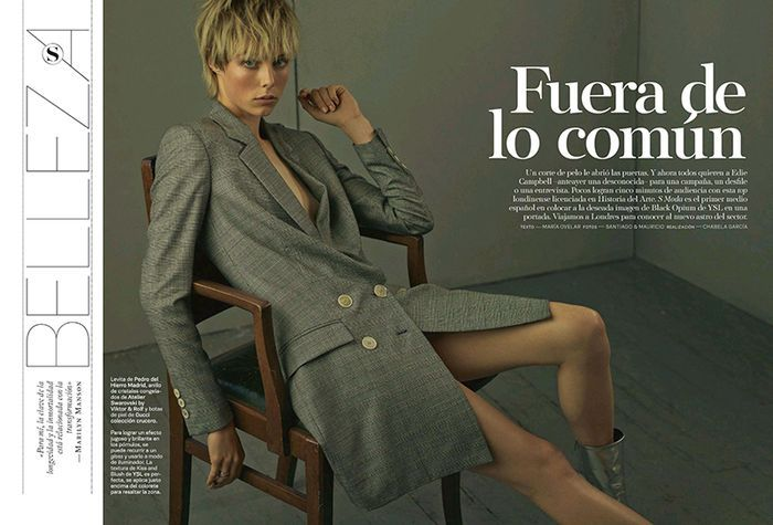 Sporty Officewear Editorials