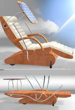 Sun Activated Loungers