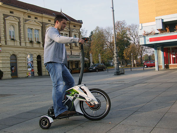 Bike-Like Segways