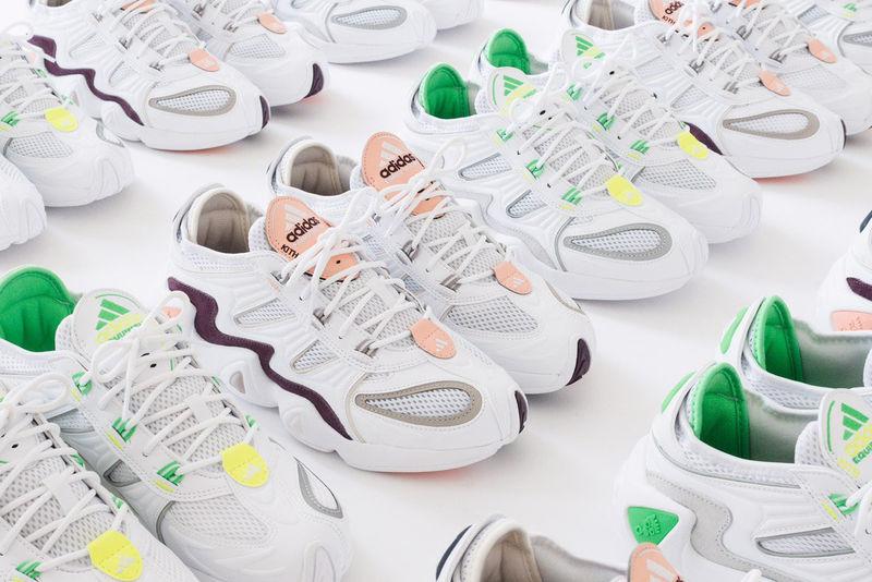 Mesh Paneling Sneaker Designs