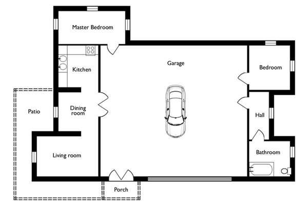 Prioritized Floor Plan Prints