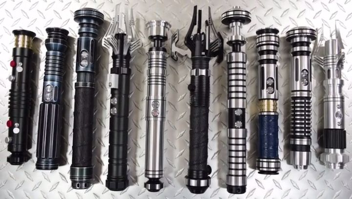 Modular Lightsaber Designs