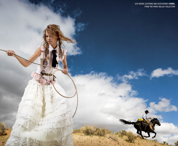 Colonial Cowgirl Editorials