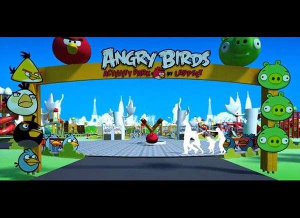 App-Inspired Theme Parks