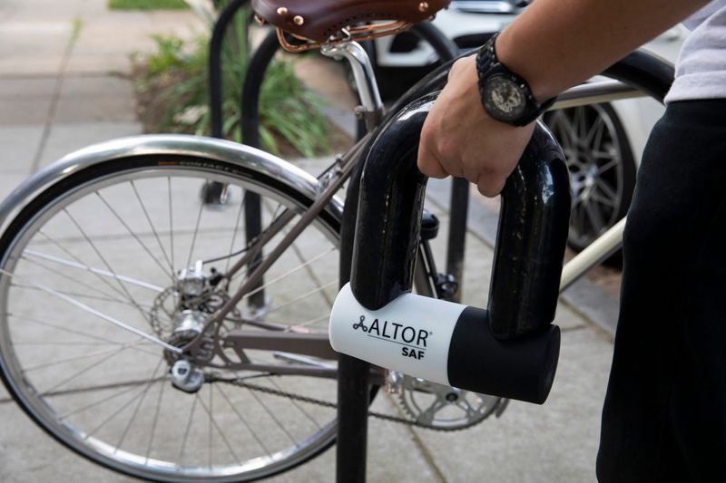 Angle Grinder-Proof Bike Locks