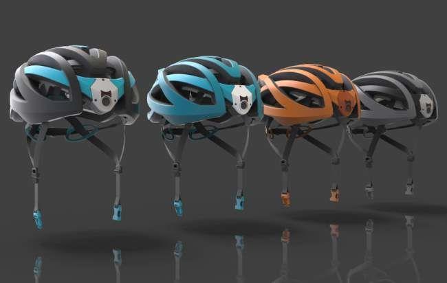 Camera-Embedded Cyclist Helmets