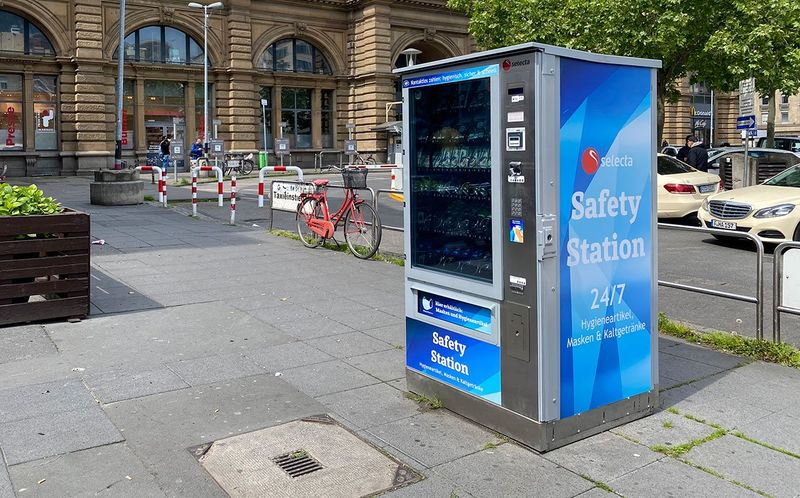 Protective Gear Vending Machines