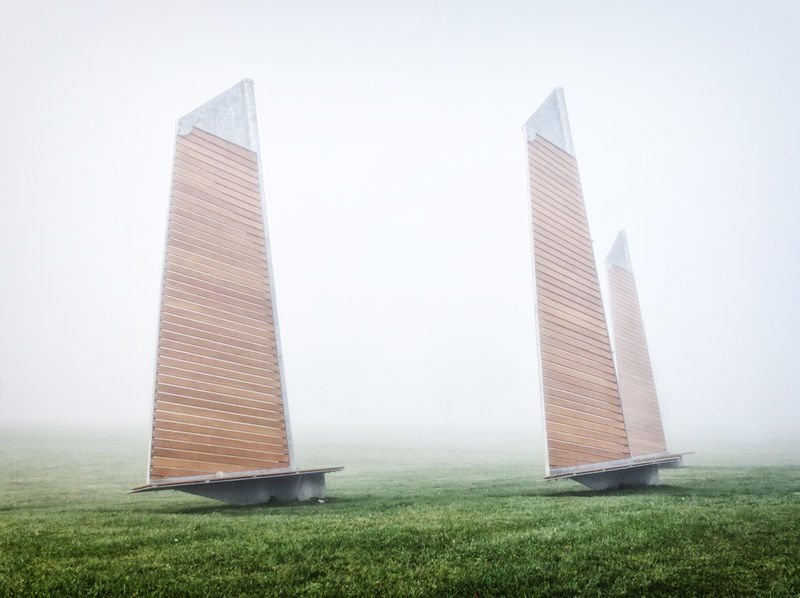 Sailing-inspired Benches