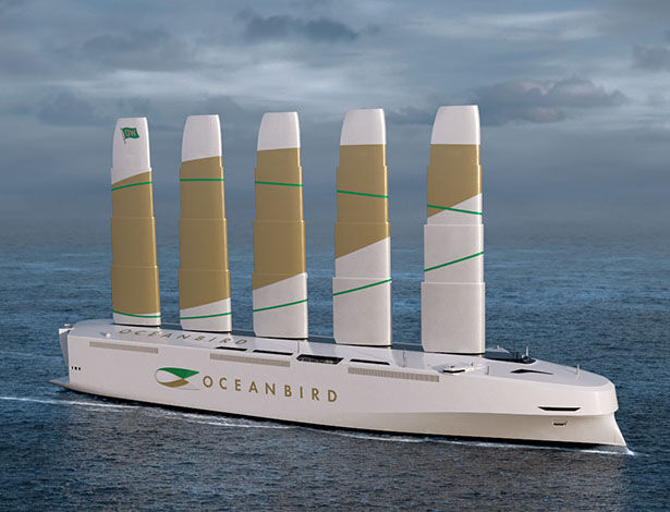 Sustainable Shipping Cargo Vessels