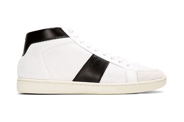 Leather-Trimmed Knockout Sneakers