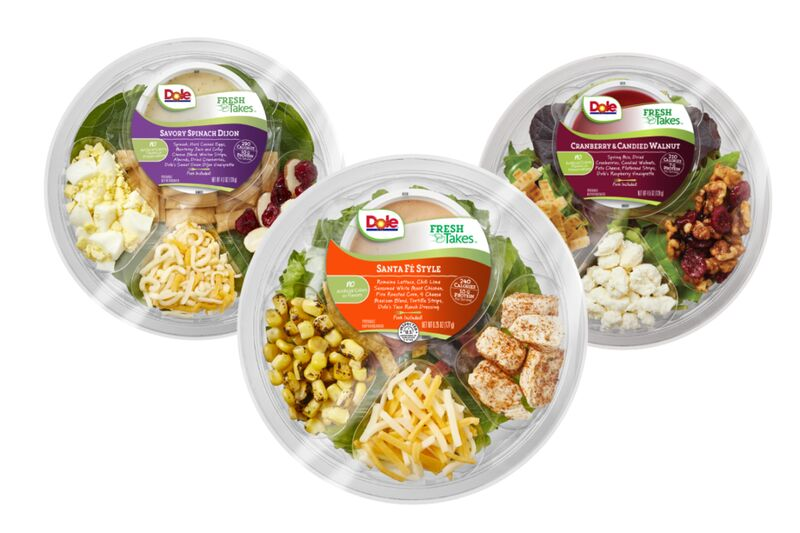 Convenient Kit-Style Salad Bowls