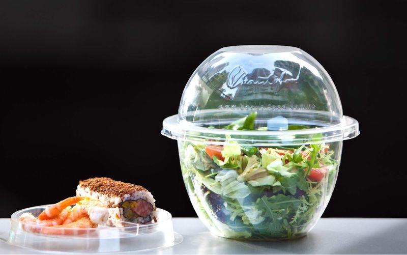 Cocktail Shaker Salad Packaging