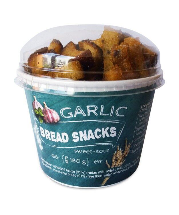 Garlic Bread Snack Cups