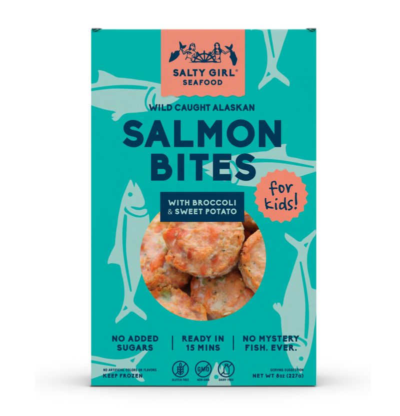 Kid-Friendly Salmon Bites