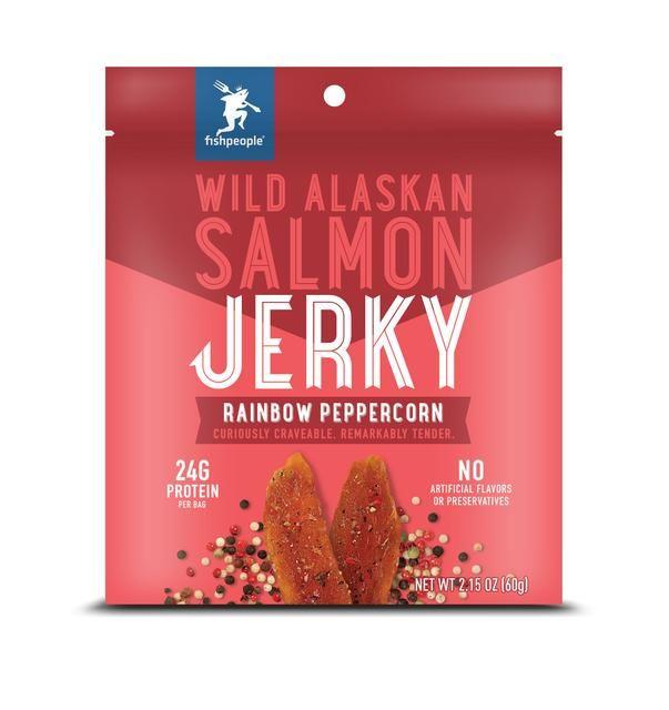 Salmon Jerky Snacks