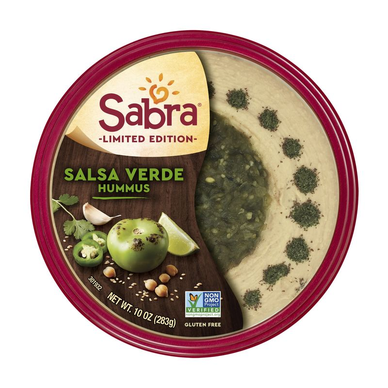 Salsa-Topped Hummus Spreads