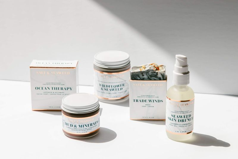 Ocean-Powered Beauty Products