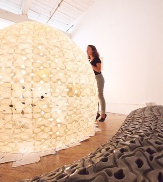 3D-Printed Salt Structures