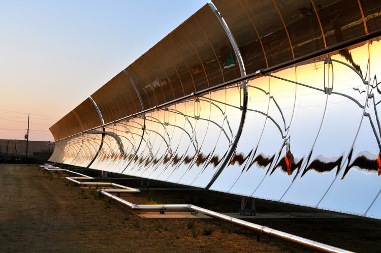 Solar-Powered Desalination Plants