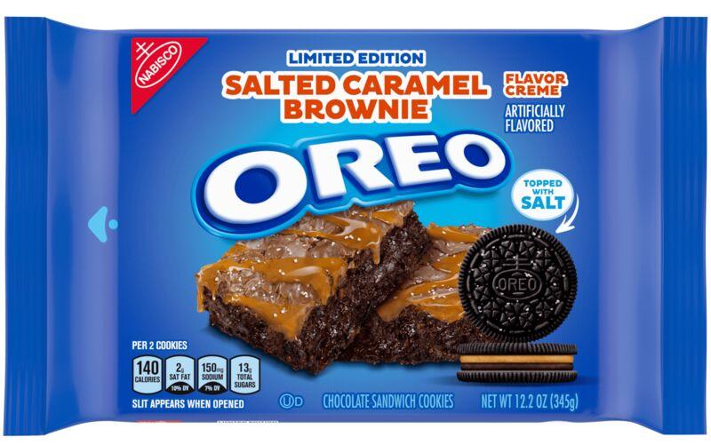 Salty Brownie-Flavored Cookies