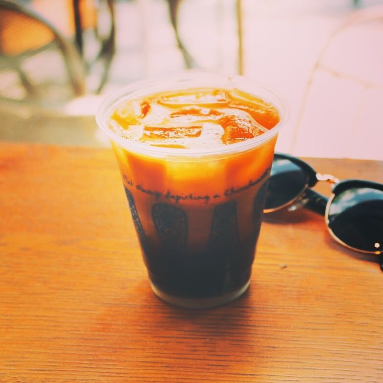 Iced Caramel Drinks