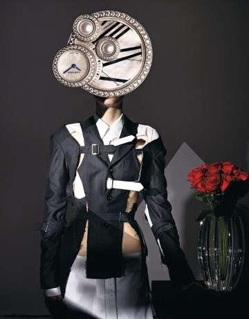 salvador dali fashion 39 surreal appeal 39 by harper 39 s bazaar. Black Bedroom Furniture Sets. Home Design Ideas
